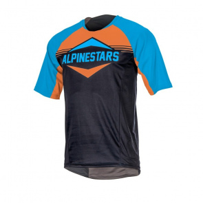 Alpinestars Maillot Manches Courtes Alpinestars Mesa Bleu/Orange 2017
