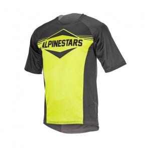 Alpinestars Alpinestars Mesa Shirt met Korte Mouwen Zwart/Acid Geel 2017