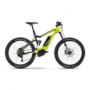 """Haibike VTT Electrique 27.5"""" Haibike XDuro AllMtn 7.0 500Wh Jaune/Noir 2017"""