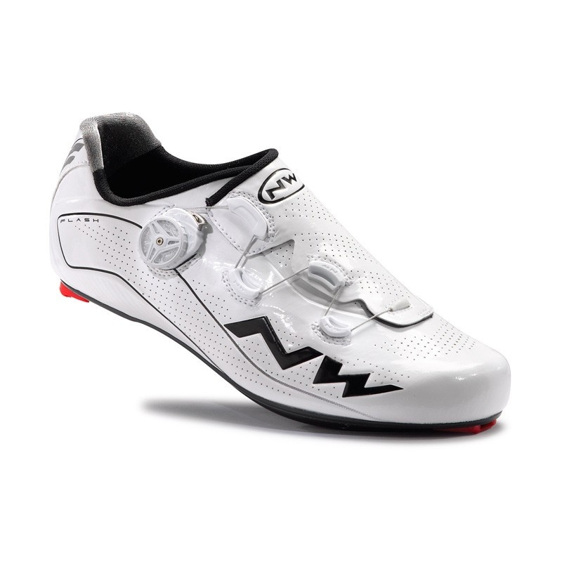 Chaussures Route Northwave Flash Blanc 2017