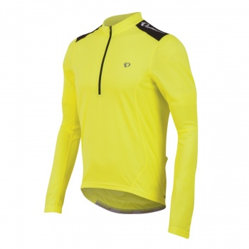Maillot Manches Longues Pearl Izumi Select Quest Jaune 2017
