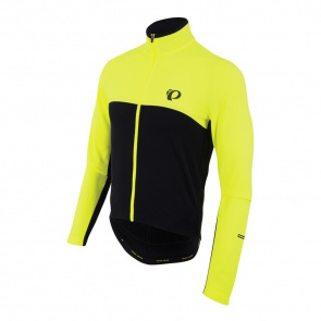 Pearl Izumi Maillot Manches Longues Pearl Izumi Select Thermal Jaune Screaming/Noir 2017