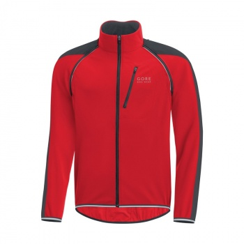 Veste Gore Bike Wear Phantom Plus GWS ZO Rouge/Noir 2017