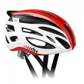 Zero RH+ Casque Two In One Shiny White/Shiny Red 2017