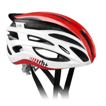 Casque Two In One Shiny White/Shiny Red 2017
