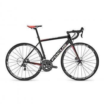Vélo de Course Focus Cayo Disc Ultegra Carbone/Rouge/Blanc 2017