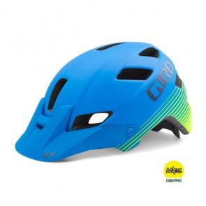 Giro Casque Giro Feature MIPS Bleu/Vert Mat