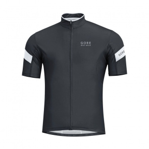 Gore Bike Wear Maillot Manches Courtes Gore Bike Wear Power 3.0 Noir/Blanc 2017