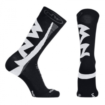 Chaussettes Northwave Extreme Winter High Noir/Blanc 2017
