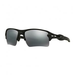 Oakley Lunettes Oakley Flak 2.0 XL Noir Mat - Verre Noir Iridium Polarisant