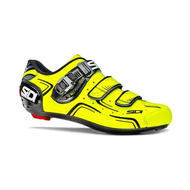 Sidi Level Race Schoenen Fluo Geel/Zwart 2017