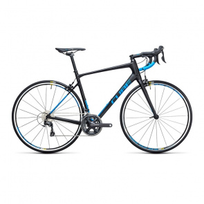 Cube - Promo Vélo de Course Cube Attain GTC Race Carbone/Bleu 2017