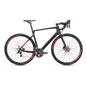 Vélo de Course Cube Agree C62 Race Disc Carbone/Rouge 2017
