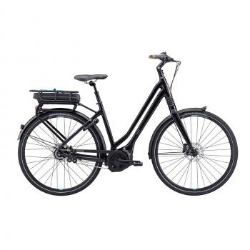 Vélo Electrique Giant Prime E+1 Disc LDS 500 Wh Noir 2017