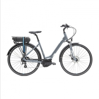Vélo Electrique Giant Entour E+2 Disc LDS 400 Wh Gris 2017
