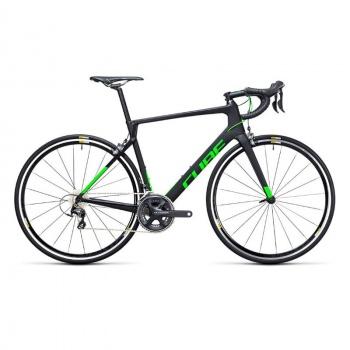 Vélo de Course Cube Agree C62 Pro Carbone/Vert 2017