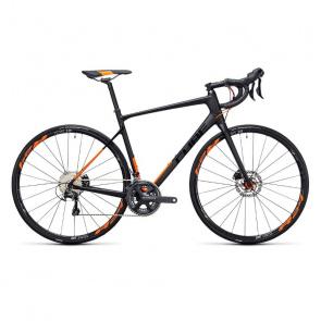 Cube Vélo de Course Cube Attain GTC SL Disc Carbone/Orange 2017