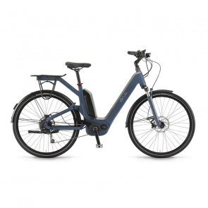 Winora - Promo Vélo Electrique Sinus Dyo 9 500 Wh Monopoutre Bleu Océan 2017