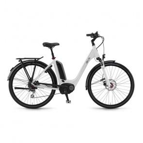 Winora - Promo Vélo Electrique Sinus Tria 8 400 Wh Monopoutre Blanc 2017