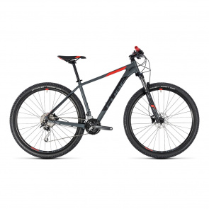 "Cube - 2018 VTT 27.5"" Cube Analog Gris/Rouge 2018"