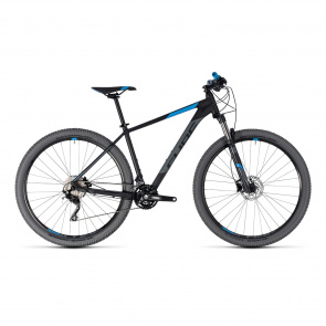 "Cube - Promo VTT 29"" Cube Attention Noir/Bleu 2018 (103100)"