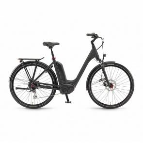 Winora - 2018 Vélo Electrique Winora Sinus Tria 8 400 Easy Entry Noir Mat 2018