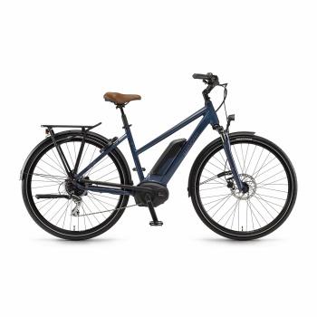 Vélo Electrique Winora Sinus Tria 8 400 Trapèze Modernblue 2018