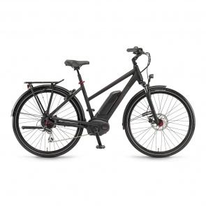 Winora - 2018 Vélo Electrique Winora Sinus Tria 8 400 Trapèze Noir Mat 2018
