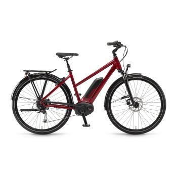 Vélo Electrique Winora Sinus Tria 9 500 Trapèze Rouge Cerise 2018