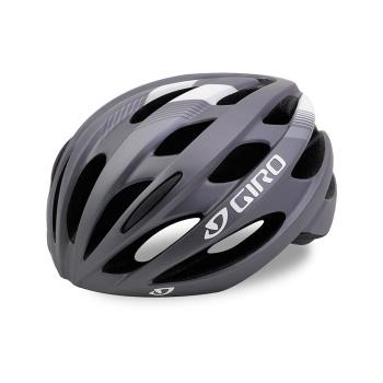 Casque Route Giro Trinity Titane Mat/Blanc 2017