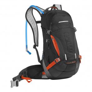 Camelbak Camelbak M.U.L.E. LR 15 Hydratatierugzak Zwart/Laser Oranje