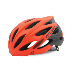 Giro Casque Route Giro Savant Rouge Vermillon/Flame Fade 2017