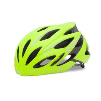 Giro Savant Race Helm Fluo Geel 2017