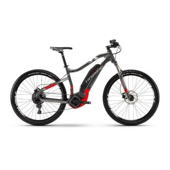 "VTT Electrique 27.5"" Haibike SDuro HardSeven 3.0 500 Titane/Rouge 2018"