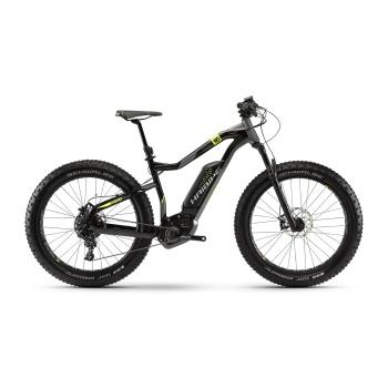 Fatbike Electrique Haibike XDuro FatSix 9.0 500 Noir/Titane 2018