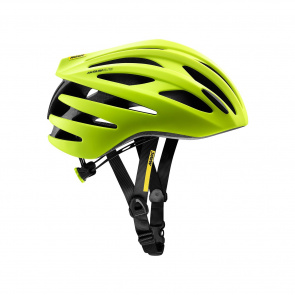 Mavic Casques Casque Route Mavic Aksium Elite Jaune/Noir 2018