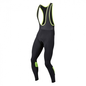 Collant Pearl Izumi Pursuit Thermal Noir/Jaune 2018