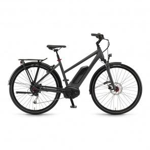 Winora - Promo Vélo Electrique Winora Sinus Tria 9 500 Trapèze Mysterypearl Mat 2018 (44241098)