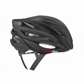 Zero RH+ ZW Race Helm Mat Zwart/Glanzend Zwart 2018