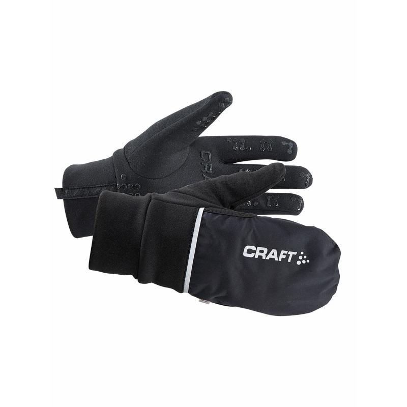Gants Craft Hybrid Weather Noir 2019-2020