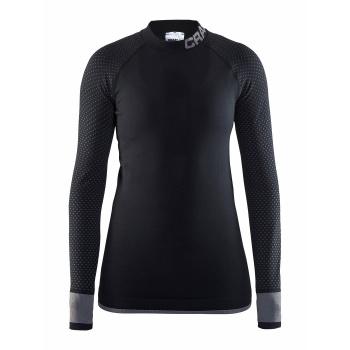 Craft Warm Intensity Ondershirt met Lange Mouwen Zwart/Zwart 2018