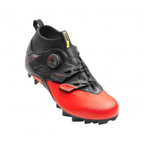 Mavic chaussures Chaussures VTT Mavic Crossmax Elite Noir/Rouge/Noir 2018