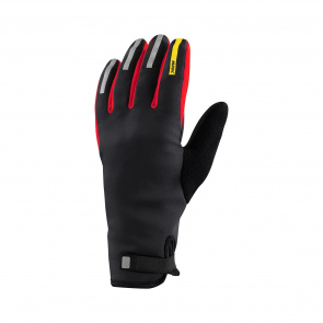 Mavic textile Gants Mavic Aksium Thermo Noir/Rouge 2018