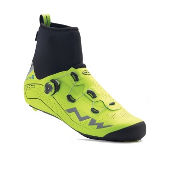 Chaussures Route Northwave Flash Arctic GTX Jaune Fluo 2018
