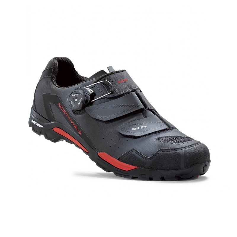 Chaussures VTT Northwave Outcross Plus GTX Anthracite/Rouge 2020