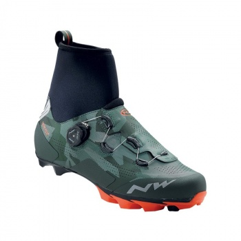 Chaussures VTT Northwave Raptor GTX Camo/Orange 2018