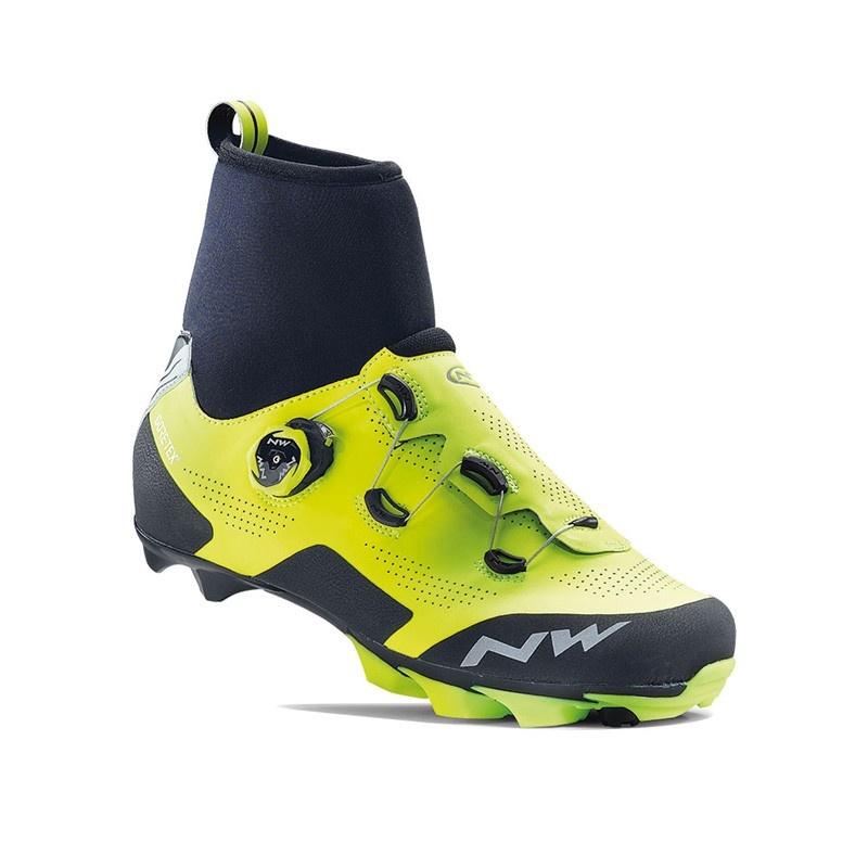 Chaussures VTT Northwave Raptor GTX Jaune Fluo/Noir 2019-2020