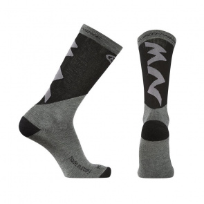 Northwave Chaussettes Northwave Extreme Pro High Gris Mélange/Jaune Fluo 2020-2021