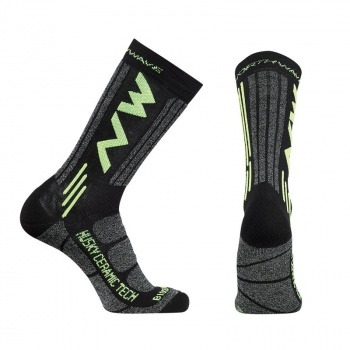 Northwave Husky Ceramic Tech 2 High Kousen Zwart 2019-2020