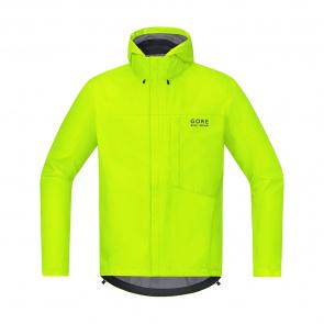 Gore Bike Wear Gore Wear E GTX Paclite Jas Fluo Geel 2018